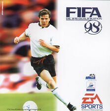 FIFA 98 - ROAD TO WORLD CUP - DIE WM QUALIFIKATION PC-SPIEL CD-ROM EA SPORTS