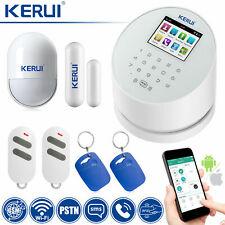 KERUI DIY W2 WiFi GSM PSTN SMS Home Security Alarm Burglar System  Accessory Lot