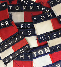 LOT OF 15 VTG Tommy Hilfiger Embroidered Sew On Patch