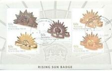 Military, War Used Sheet Stamps