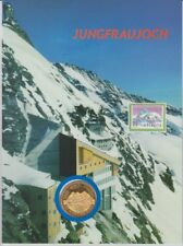 D. Numisblatt   Schweiz  -  Jungfraujoch