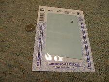 Microscale decals N 60- 1234 Atchison Topeka SF ACF Hart sel. ballast hoppe E135