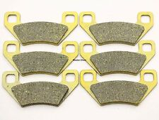 Front Rear Brake Pads For Arctic Cat Prowler HDX 500 XT 550 650 H1 700 HDX XTX