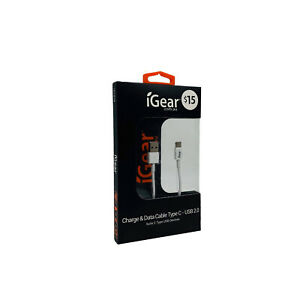 iGear USB Type C Cable for Samsung HTC Macbook 1M