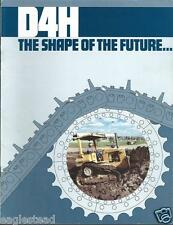 Equipment Brochure - Caterpillar - D4H - Track-type Tractor - c1980's (E2189)