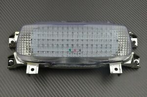Feu arrière stop LED clair clignotants intégrés pour Suzuki GSXR 1100 1993-1997
