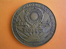 Sunbeam Motor Cycle Club - The Pioneer Run - Participants Medal 1967