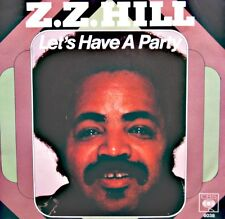 ++Z.Z. HILL let's have a party/tell it like it is SP 1979 CBS VG++