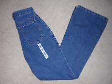 NEW LEE * Girls 16 Slim * Flare Blue Denim Jeans Cargo Pocket 26 x 31