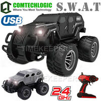 2.4Ghz 1:12 RC Remote Radio Control SWAT Armoured Combat Off Road Suv Truck Car