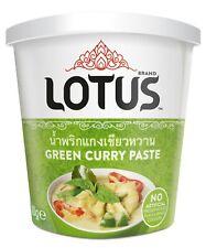 Thai Green Curry Paste 400g Tub by Lotus