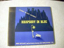 Gershwin's Rhapsody in Blue Andre Kostelanetz 2 Orchestea featung Alec Templ