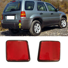 For Ford Escape 2004-2007 Red Lens Rear Bumper Reflector Rear Warn Fog Lights