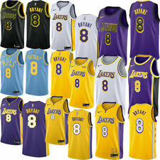 8# Kobe Bryant Swingman Basketball Jersey Stitched Los Angeles Laker Mens Vest