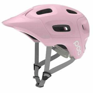 POC Trabec BIKE sport Ski race cycl Helmet Ytterbium Pink M-L 340GR 55-58 New