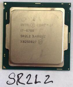 Intel Core i7-6700 3.4 GHz 6th Gen LGA1151 Quad Core CPU SR2L2