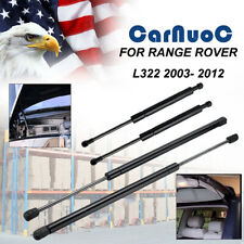 2 Hood & 2 Tailgate Lift Support Shock For Land Rover Range Rover L322 2003-2012