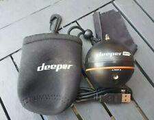 Deeper PRO+ Smart Sonar Wireless Fish Finder - Black