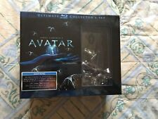 AVATAR EXTENDED COLLECTOR'S EDITION 3 BLU RAY + BUSTO + LIBRO +  FOTOGRAMMA