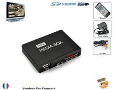 Mini Passerelle MULTIMEDIA HDMI Disque dur externe USB LECTEUR Carte me TV DIVX