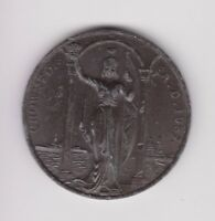 Beautiful 1937 George VI Coronation Medal, Unsigned But By Tiptaft. 44mm .H.250
