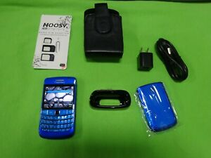 BLUE! Rare Old Classic BlackBerry Bold 9700 Sim Unlocked Tracfone Cell Phone