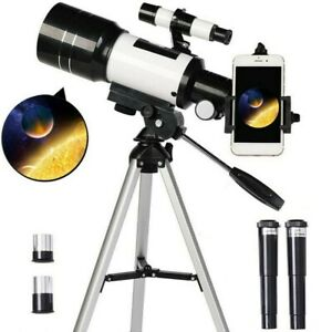 Astronomical Telescope 150X Zoom 70mm Finder Scope with Tripod with Phone Clip