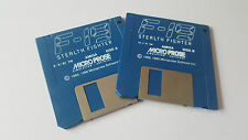 F 19 Stealth Fighter, Disks Only, Commodore Amiga Game, Tested, #290