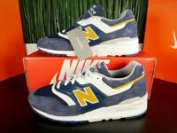 New Balance 997 Made in USA Mens Shoes Blue/White M997PAN Size 8-13