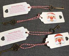 Santa's Magic Key Santa  Christmas Eve No Chimney Stocking Gift Decoration Xmas