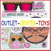 LOL secret SURPRISE WINTER DISCO BIGGIE CRICETO PET omg SFERA SUPER OFFERTA