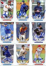 FRANKLIN BARRETO SIGNED 2014 BOWMAN DRAFT TOP PROSPECT BDP ROOKIE CARD AUTO