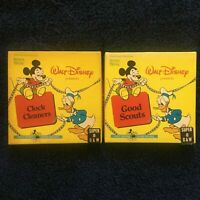 Super 8 Walt Disney Lot of 2 films | Clock Cleaners & Good Scouts