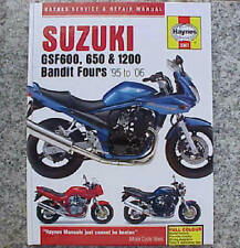 1995-2006 Suzuki Bandit GSF600 GSF650 GSF1200 GSF 600 650 1200 REPAIR MANUAL
