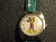 Old Collectible lMickey Mouse  00004000 Wristwatch, Swiss