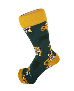 Women Boys Girls Animal Tiger Design Novelty Funky Everyday Ankle Socks