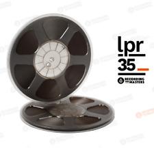 "LOT OF (10) LPR35 RTM PYRAL RMG RMGI TAPE REEL 1/4"" X 3600 10.5"" PLASTIC TRIDENT"