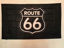 Drapeau Route 66 / USA / Etats Unis / Sudiste / 145 cm X 90 cm