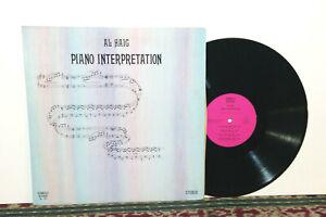 Al Haig, Piano Interpretation, LP 1976, Seabreeze SB-1001 - JAZZ SMOOTH BOP, NM