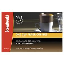 60 Rombouts Original Blend  One Cup Filter Coffees Free UK Delivery