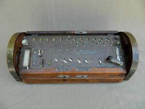 Antique Reuter's Multiplying and Dividing Machine Calculator Same as Saxonia