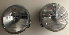 genuine porsche 911 930 964 headlights lamps bosch H5 TESTED w/led bulbs w/rings
