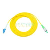 3m LC UPC to FC APC Single Mode SM Simplex Fiber Optical Patch Cord 9/125 Jumper