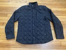 Victorinox Bernhd Quilted Over Shirt Jacket Black Size XL
