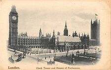 BR81102 london clock tower and houses of parliament uk