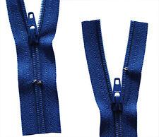 Reißverschluss für Bettwäsche 1 Weg in bourdeaux schließbare Länge 30-200 cm