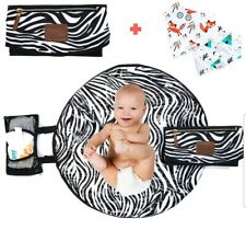 Portable Diaper Changing Pad for Baby Newborn Infant and Toddlers–Waterproof #01