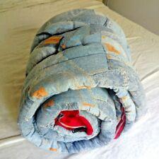 Vintage Wrangler Sleeping Bag 1970s Jeans Western Blanket Comforter Rockabilly