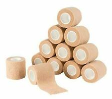 "12 Pack 2"" Self Adhesive Cohesive Bandage Stretch Wrap First Aid Elastic Tape"