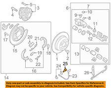 KIA OEM 16-18 Sorento Brake-Rear-Brake Hose Bolt 587262F000
